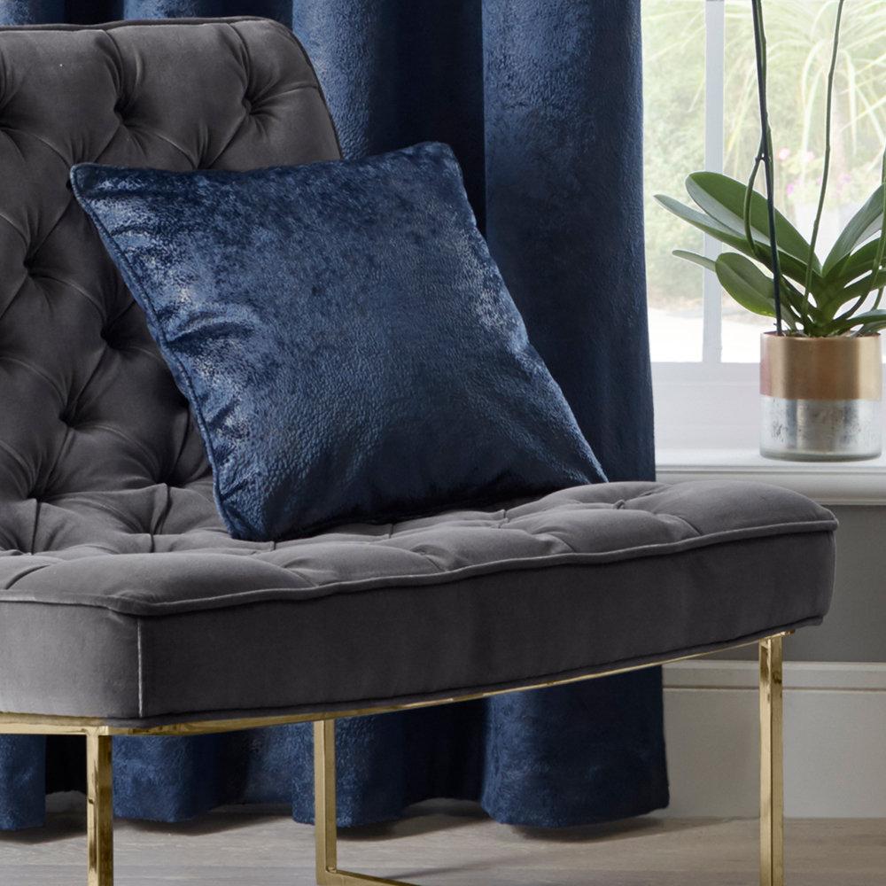 Navarra Cushion - Indigo - by Studio G