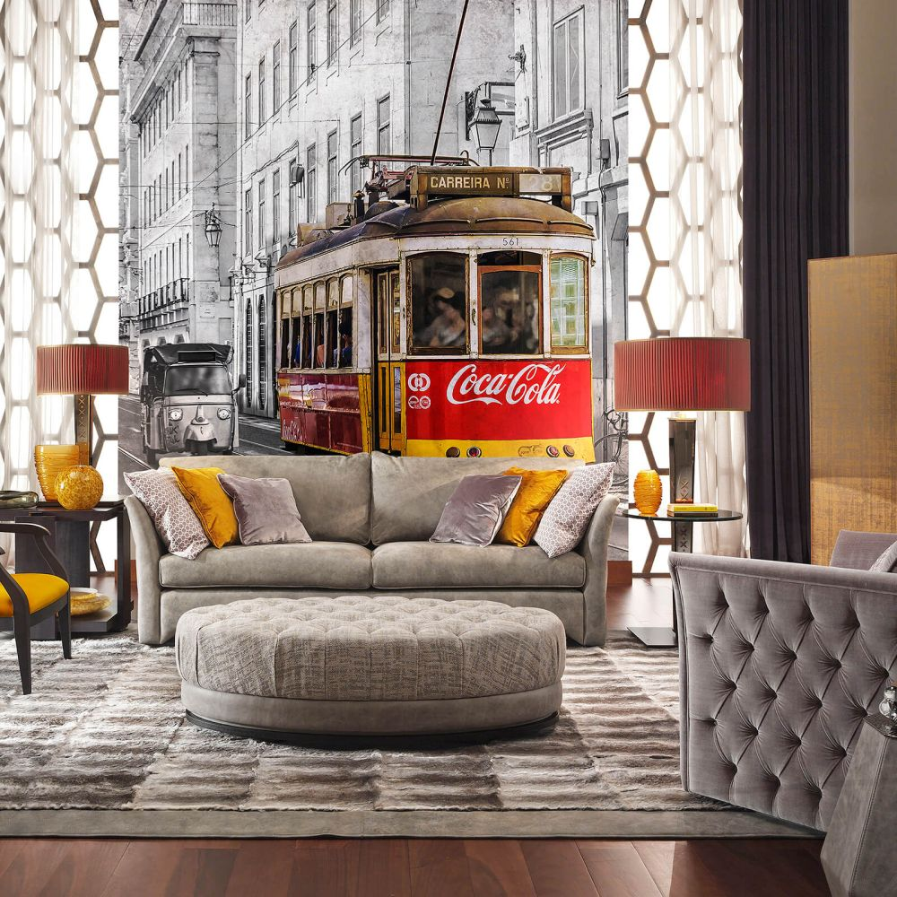 Coca Cola Street Car Multi Mural - Product code: 41270
