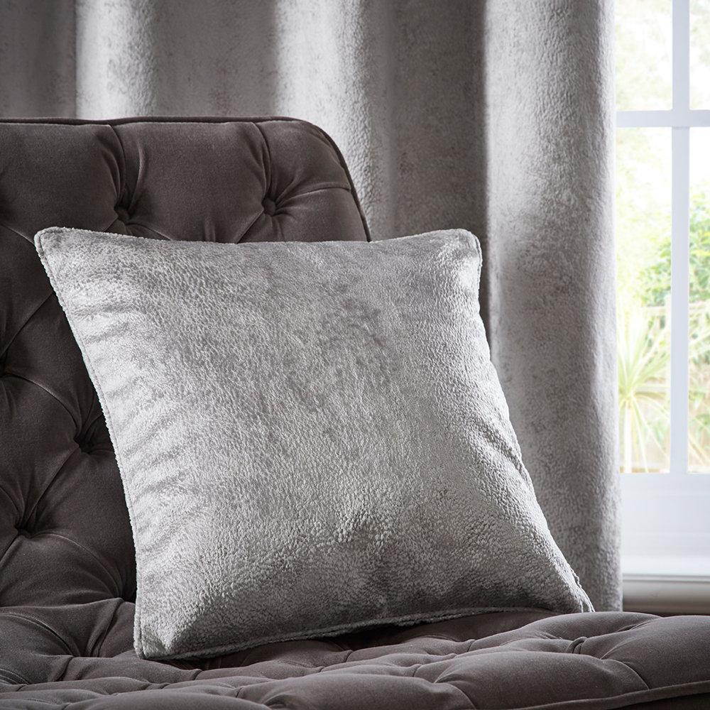 Navarra Cushion - Silver - by Studio G