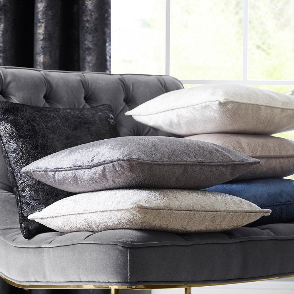 Navarra Cushion - Slate - by Studio G