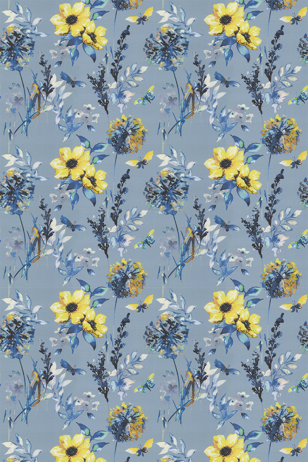 iliv Catalina Cornflower Fabric - Product code: CRBL/CATALCOR
