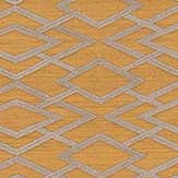 Jane Churchill Geometric Silk Gold Wallpaper - Product code: J8001-02