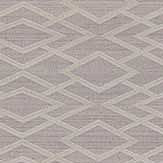 Jane Churchill Geometric Silk Pewter Wallpaper - Product code: J8001-07