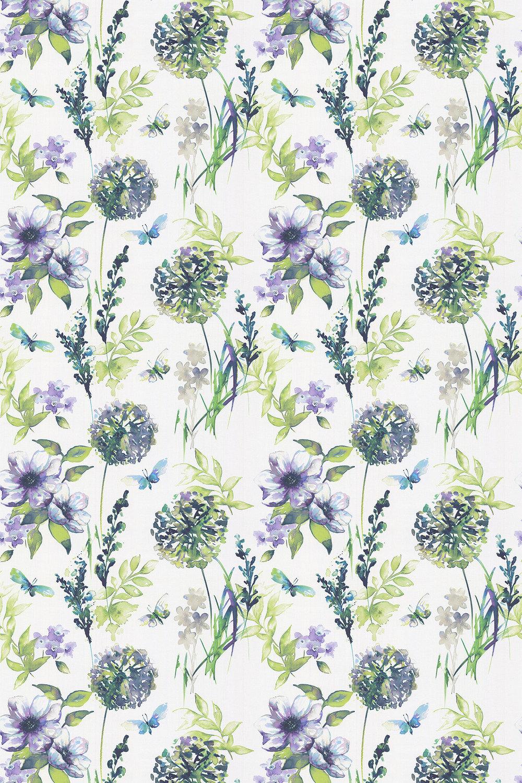iliv Catalina Iris Fabric - Product code: CRBL/CATALIRI