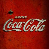 Coca Cola Distributer Red Mural