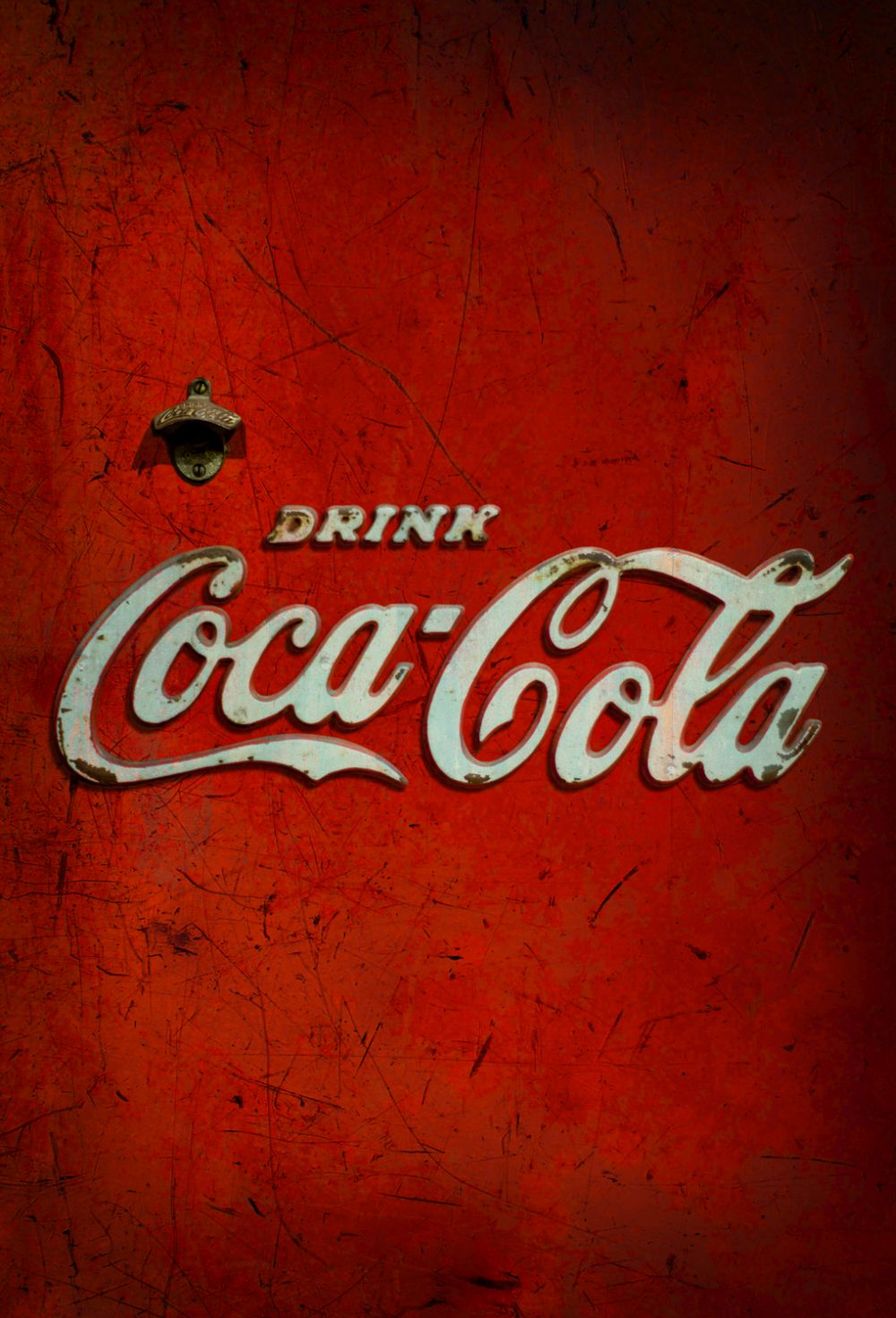 Coca Cola Distributer Red Mural - Product code: 41279