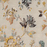 Nina Campbell Nemours Ochre Fabric - Product code: NCF4332-01