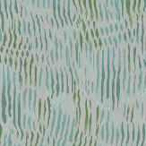 Nina Campbell Arles Aqua / Green Fabric