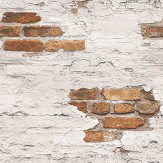 Galerie Distressed Brick Wallpaper - Product code: G45352