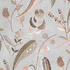 Nina Campbell Colbert Blush and Grey Fabric