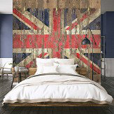 Galerie Union Jack mural Multi-coloured - Product code: G45284