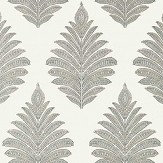 Anna French Palampore Leaf Grey Wallpaper - Product code: AT78724
