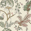 Anna French Kalamkari Vine Red / Gold Wallpaper - Product code: AT78741