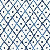 Anna French Mini Trellis Blue Wallpaper - Product code: AT78750
