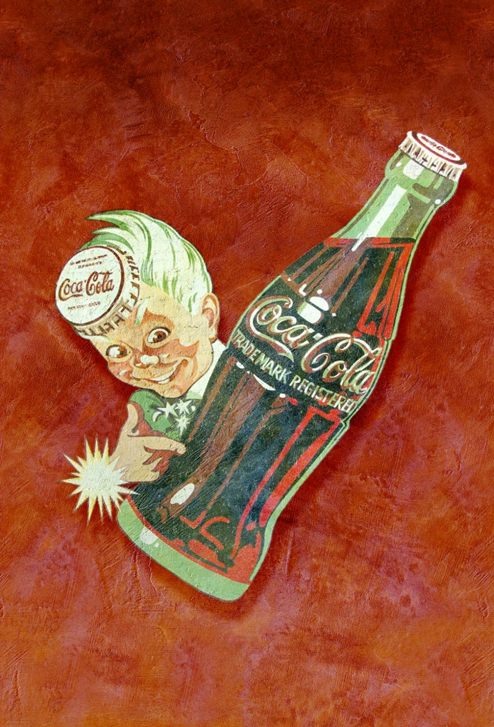 Coca Cola Coca Kid Red Mural - Product code: 41275