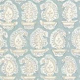 Anna French Gada Paisley Robin's Egg Wallpaper