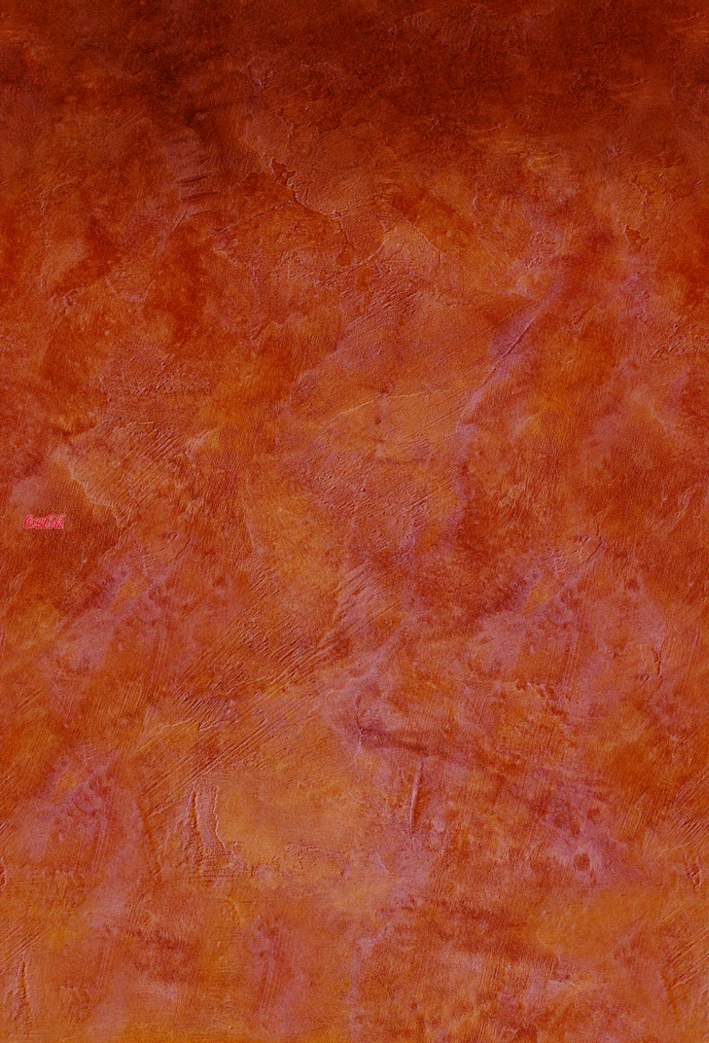 Coca Cola Plain Red Mural - Product code: 41276