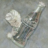 Coca Cola Coca Kid Grey Mural - Product code: 41277