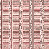 Anna French Montecito Stripe Red Wallpaper - Product code: AT78722