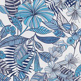 Matthew Williamson Valldemossa Blue Fabric - Product code: F7240-03