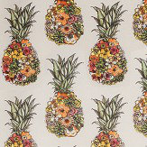 Matthew Williamson Ananas Cerise/ Lemon/ Mint Fabric - Product code: F7245-02