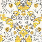 Kandola Emperor Yellow Wallpaper - Product code: DW1659/01