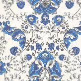 Kandola Emperor Blue Wallpaper