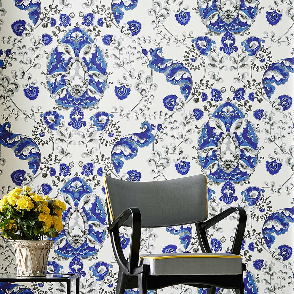 Kandola Emperor Blue Wallpaper - Product code: DW1659/02