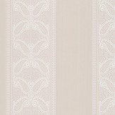Colefax and Fowler Verney Stripe Ivory Wallpaper - Product code: 07186/01