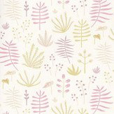 Casadeco All Over Jungle Pink Wallpaper - Product code: HPDM8273 5206