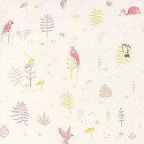 Casadeco Tropical Pink Wallpaper - Product code: HPDM8292 5203