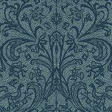Hooked on Walls Graceful Teal Wallpaper - Product code: 15510