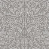 Hooked on Walls Graceful Silver Wallpaper - Product code: 15514