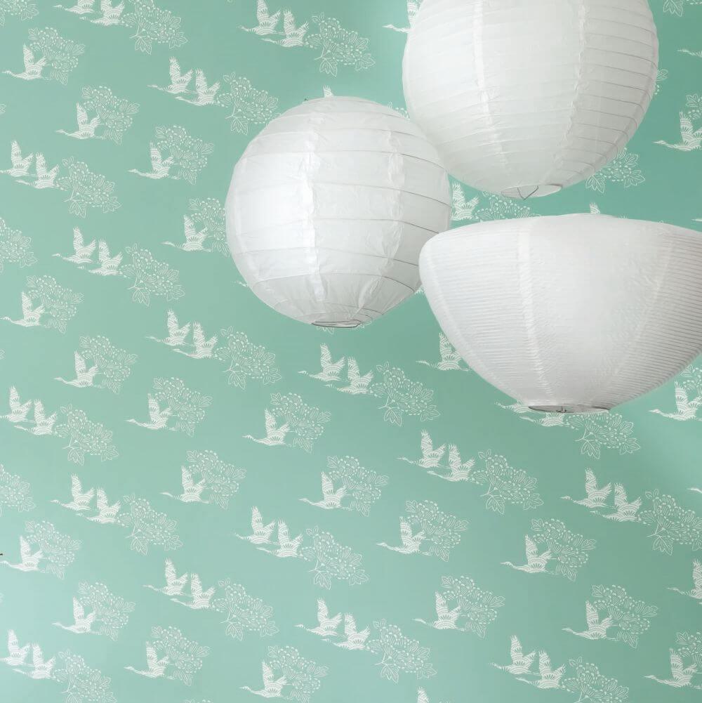 Caselio Tobu Mint Wallpaper - Product code: HAN10031 7010