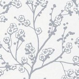 Caselio Sakura Grey Wallpaper