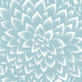 Caselio Hana Pale Blue Wallpaper