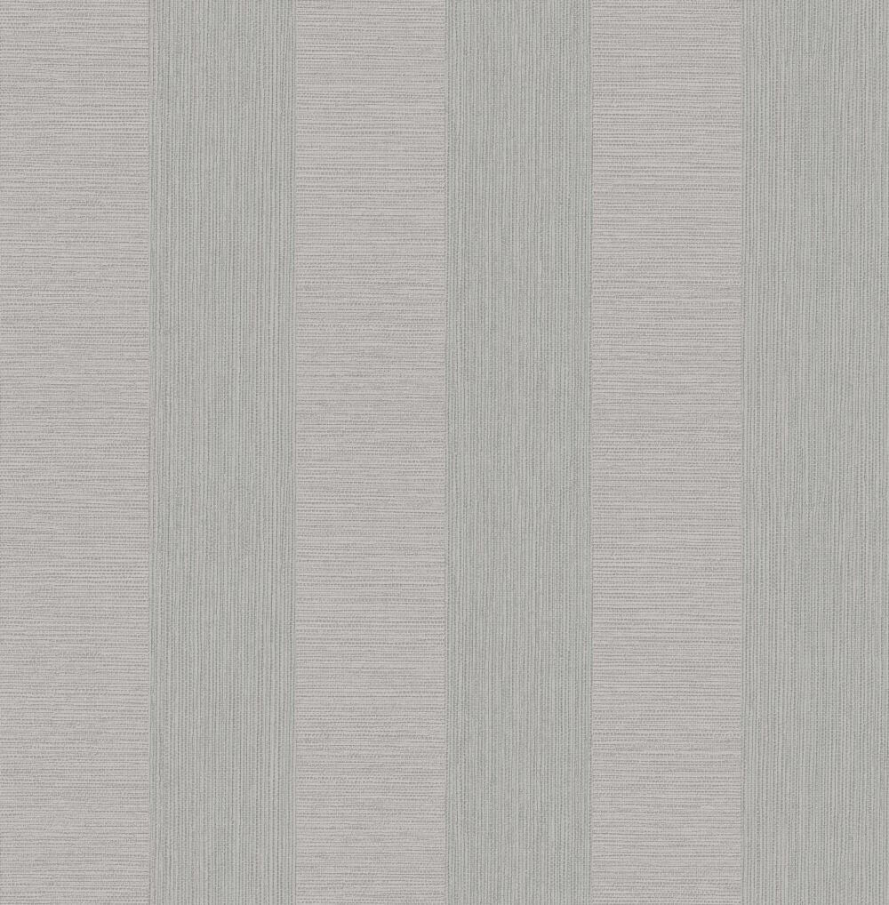 Albany Faux Grasscloth Stripe Grey Wallpaper - Product code: CB41065