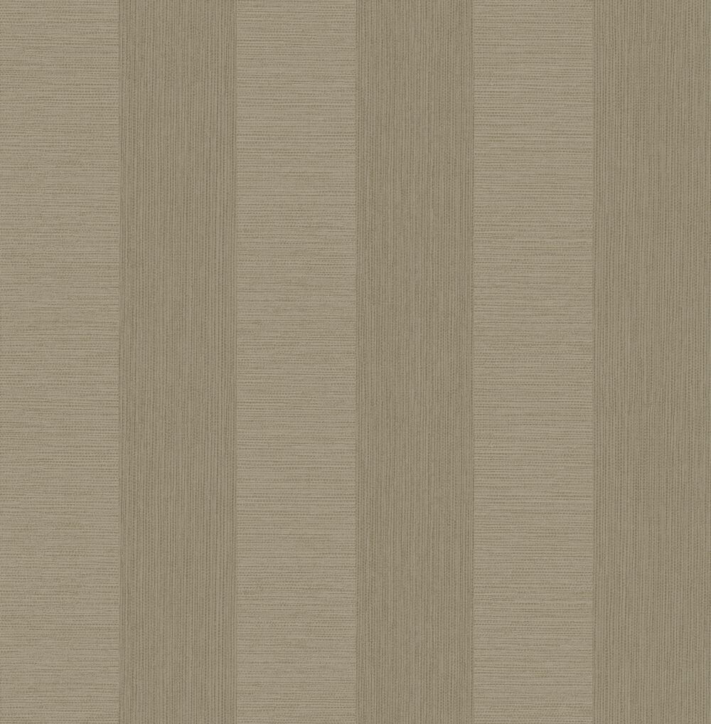 Albany Faux Grasscloth Stripe Taupe Wallpaper - Product code: CB41068
