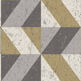 Albany Cork Triangles Grey and Gold Wallpaper - Product code: CB41071