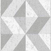 Albany Cork Triangles Grey Wallpaper