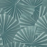 Hooked on Walls Fan Teal Wallpaper - Product code: 68031