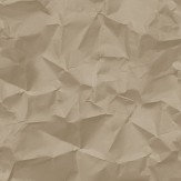 Hooked on Walls Crinkle Milk Chocolate Wallpaper - Product code: 68040