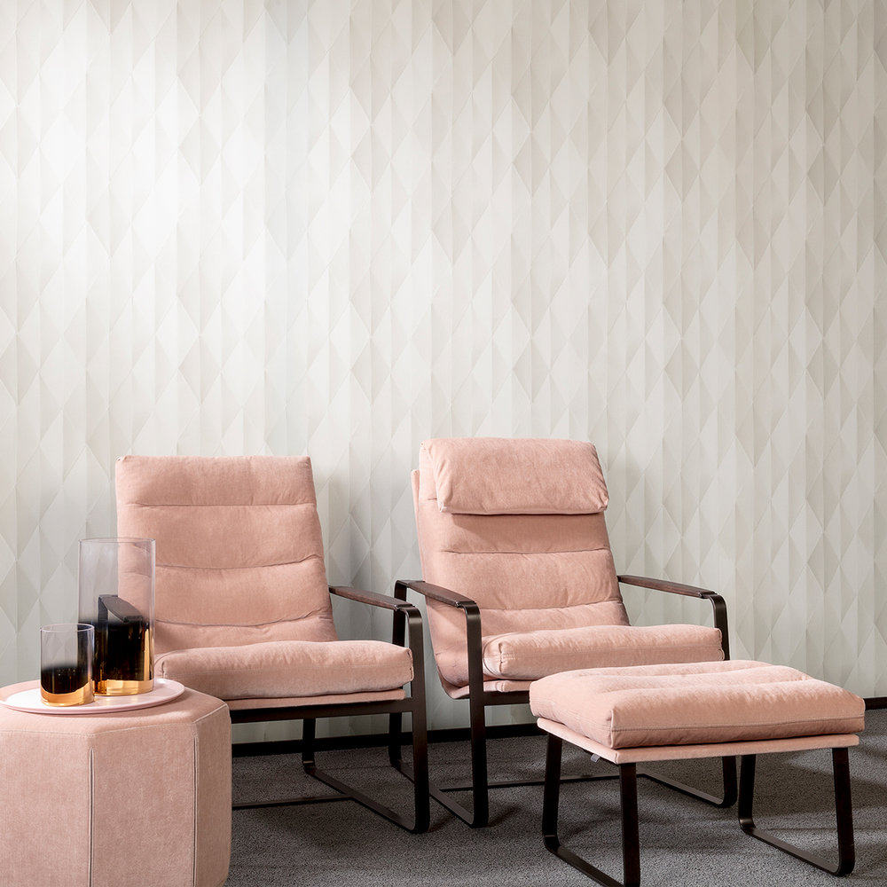 Hooked on Walls Pieces Cream Wallpaper - Product code: 68051