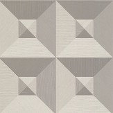 Arte Pyramid Silver / Grey Wallpaper