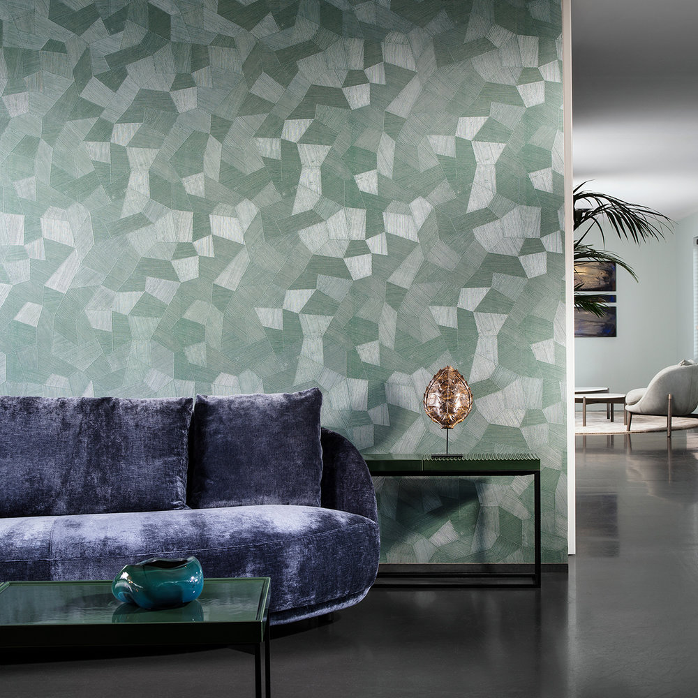 Arte Facet Teal Wallpaper - Product code: 26544