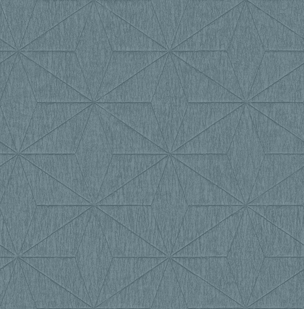 Albany Crepe Star Teal Wallpaper - Product code: CB41102