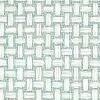 Thibaut Baker Weave Aqua Wallpaper - Product code: T2988