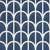Thibaut Hillock Navy Wallpaper - Product code: T2976