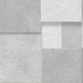 Albany Metallic Squares Grey and Silver Wallpaper - Product code: CB41113