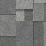 Albany Metallic Squares Dark Silver Wallpaper - Product code: CB41114
